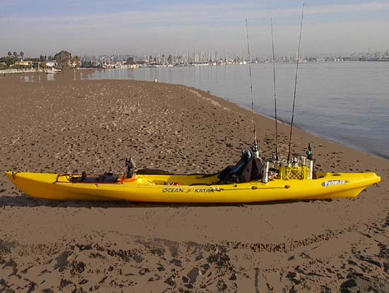 Rigged Fishing Kayaks